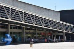 The Lisbon Oceanarium in Portugal Stock Photo