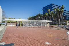 Lisbon oceanarium, siklawa Zdjęcia Royalty Free