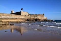 Lisbon Oeiras St Julian's fort Stock Images