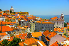 Lisbon old city, Portugal Stock Photos