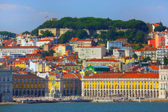 Lisbon old city, Portugal. Beautiful view of Lisbon old city, Portugal royalty free stock photography
