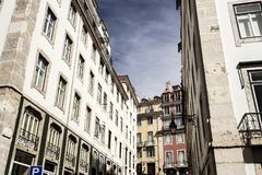 Lisbon Old City Stock Images