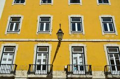 Lisbon old facade Royalty Free Stock Photo