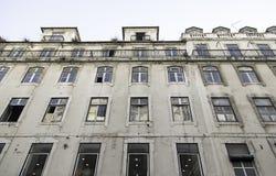 Lisbon old facade Royalty Free Stock Photos