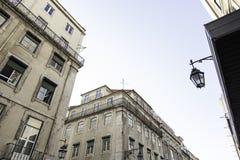 Lisbon old facade Royalty Free Stock Photo