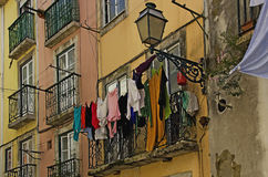 Lisbon, Old Town Alfama Royalty Free Stock Photos