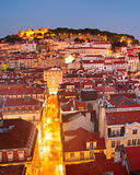 Lisbon Old Town Royalty Free Stock Photography