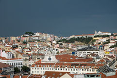 Lisbon old town Royalty Free Stock Photo