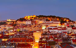 Lisbon Old Town Royalty Free Stock Photos