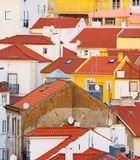 Lisbon traditional architecture Background Portugal Royalty Free Stock Image