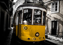 Lisbon old town stock photography
