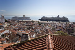 Lisbon Old Town Stock Image