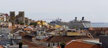 Lisbon Old Town Royalty Free Stock Photos