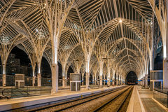 Lisbon Oriente Station royalty free stock image