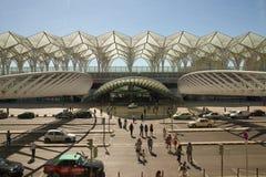 Lisbon, Oriente station Stock Photography