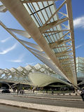 Lisbon Oriente Station in Portugal Royalty Free Stock Photo
