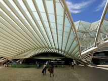 Lisbon Oriente Station in Portugal Stock Photography