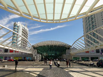 Lisbon Oriente Station in Portugal Royalty Free Stock Photography