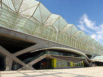 Lisbon Oriente Station in Portugal Royalty Free Stock Image