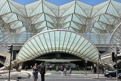 Lisbon Oriente Station in Portugal Royalty Free Stock Images