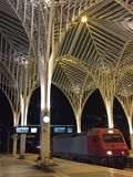 Lisbon Oriente Station in Portugal Stock Photo