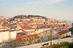 Lisbon overlooking Stock Photography