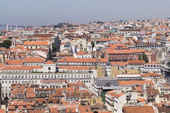 Lisbon overview Stock Photos