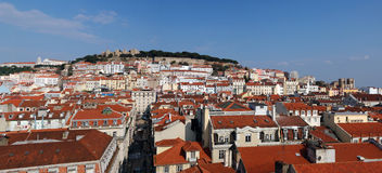 lisbon panorama Obraz Royalty Free
