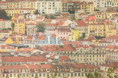 Lisbon is the capital and the largest city of Portugal. Lisbon Panorama, Lisbon is the capital and the largest city of Portugal royalty free stock photos