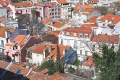 Lisbon. Panorama of the city Royalty Free Stock Image