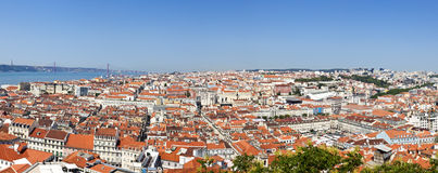 Lisbon Panorama Royalty Free Stock Images