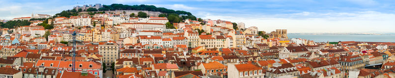 Lisbon panorama Royalty Free Stock Image