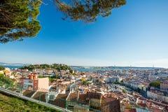 Lisbon panorama, Portugal Stock Photos