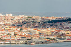 Lisbon Panoramic View Stock Photo
