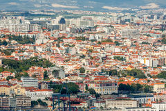 Lisbon Panoramic View Stock Image