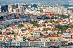 Lisbon Panoramic View Royalty Free Stock Image