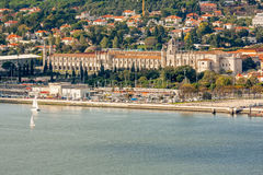 Lisbon Panoramic View Royalty Free Stock Photography