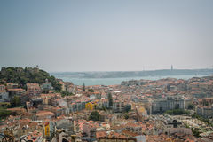 Lisbon Panoramic View. From the Hill, Portugal Stock Photo