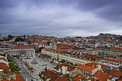 Lisbon, panoramic view Royalty Free Stock Photo