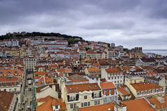 Lisbon, panoramic view Stock Photography