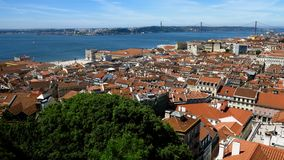 Lisbon Panoramic View 2 Royalty Free Stock Image