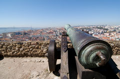 Lisbon panoramiczny Obraz Stock