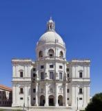 Lisbon Panteao Nacional Santa Engracia Church Stock Image