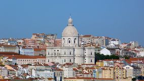 The Lisbon Pantheon royalty free stock images