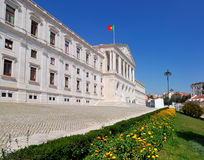 lisbon parlament portugal Royaltyfri Fotografi