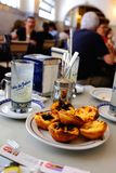Lisbon pastry (pasteis de belem) Royalty Free Stock Photos