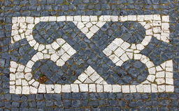 Lisbon pavement Stock Photography