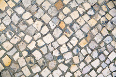 Lisbon pavement Royalty Free Stock Images