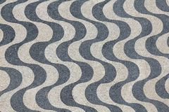 Free Lisbon Pavement Waves Royalty Free Stock Photography - 24124557