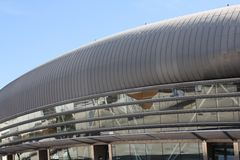 Lisbon - Pavilhao Atlantico. Modern indoor arena Atlantic Pavilion in Lisbon, Portugal Stock Photography